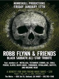 Роберт Трухильо исполнит песни Black Sabbath